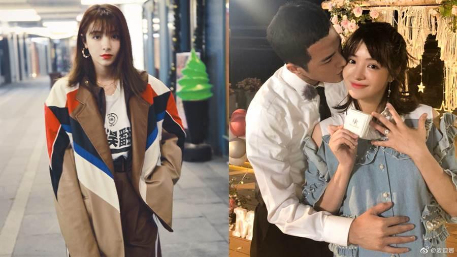 新疆最美人妻麥迪娜連體褲洩美腿!辣度更勝迪麗熱巴(圖/摘自微博@麥迪娜)