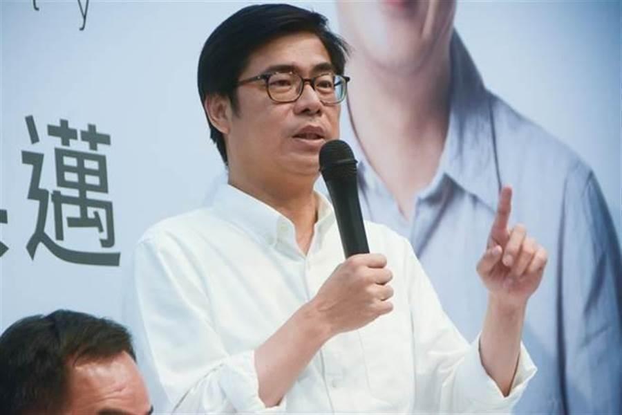 高市長補選,前行政院副院長陳其邁代表民進黨出戰。(中時資料照)