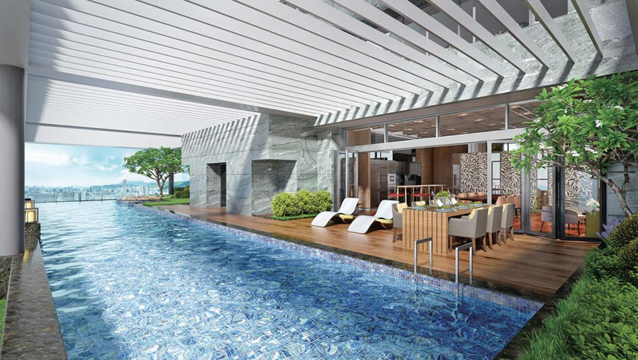 「家居雲邸」將天母頂端住宅規畫再進化,提供媲美五星飯店奢華入住體驗。圖/業者提供