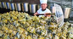大陸端午產業鏈逾5700家 粽子鹹鴨蛋多集中海南和山東