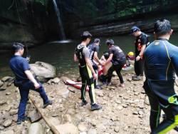 平溪望古瀑布浮潛男子找到了! 警消尋獲已無呼吸心跳
