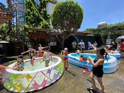龍鳳里自熬午時水 逾百兒童打水仗嗨翻