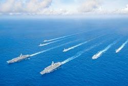 美3航母組隊 強勢回歸西太!雙航母菲律賓海演習 雷根號待命 美軍:就是針對陸