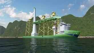 台首艘新世代大型浮吊船「Green Jade」完成最終投資決策 預計2022年年底完工交船
