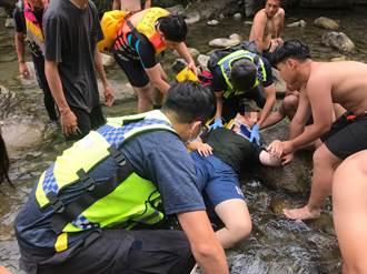 端午戲水消暑 花蓮秀林水源地17歲女跳水撞擊急送醫