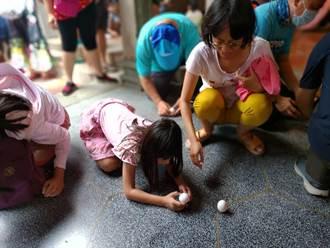 善化慶安宮端午節立蛋有吃有玩 錯過再等一年