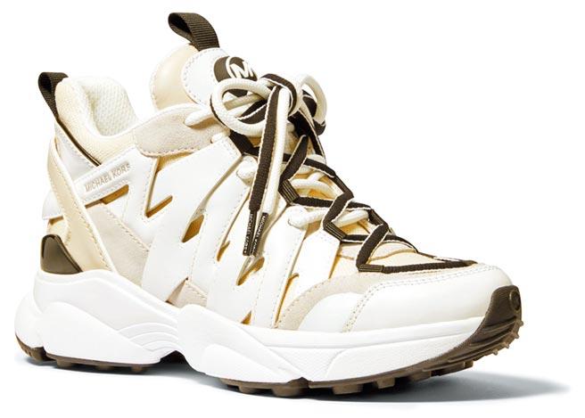 Michael Kors麂皮拼接老爹鞋,9800元。(Michael Kors提供)