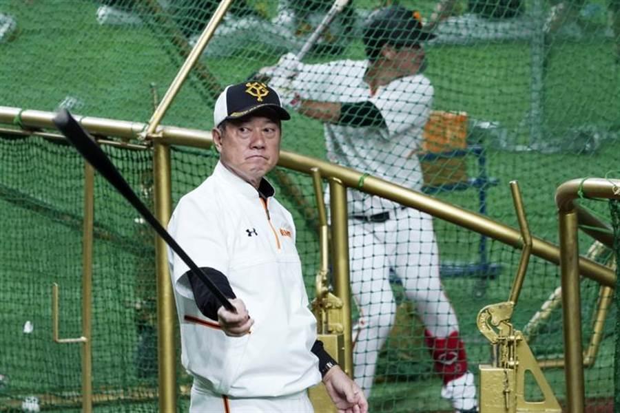 讀賣巨人隊監督原辰德被周刊爆料曾參與高球賭博,但球團高層力挺他,要求周刊道歉。(美聯社資料照)