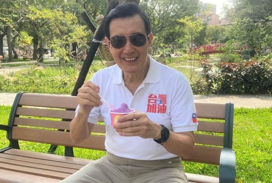 前總統馬英九。(圖/摘自馬英九臉書)