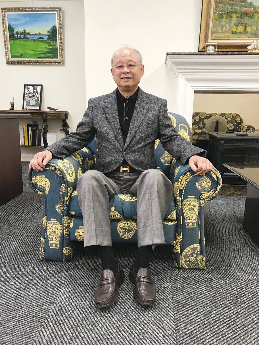 台灣高爾夫俱樂部會長紀文豪。圖/台灣高爾夫俱樂部提供