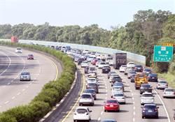 7倍車流量!明收假潮國道最雷路段在這 高公局:恐塞12小時