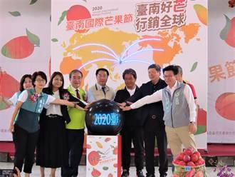 台南國際芒果節登場 市長黃偉哲體驗芒果青DIY