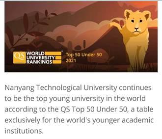 台灣4校登上最新QS年輕大學 台灣科技大學第25名最佳