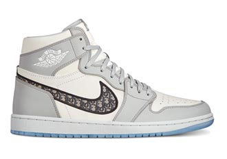 Dior攜手Jordan 聯名鞋款線上銷售