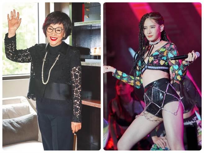 71歲育達商職改名了!沒想到這些名人都讀這,左為徐楓,右為安心亞。(圖/本報系資料照)