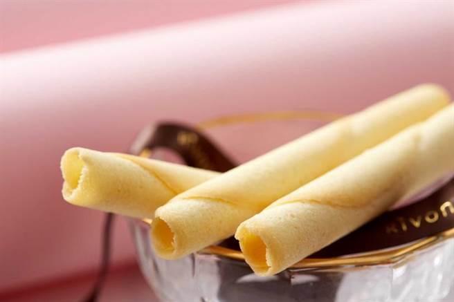 禮坊奶油雪茄捲。(圖/宏亞食品提供)