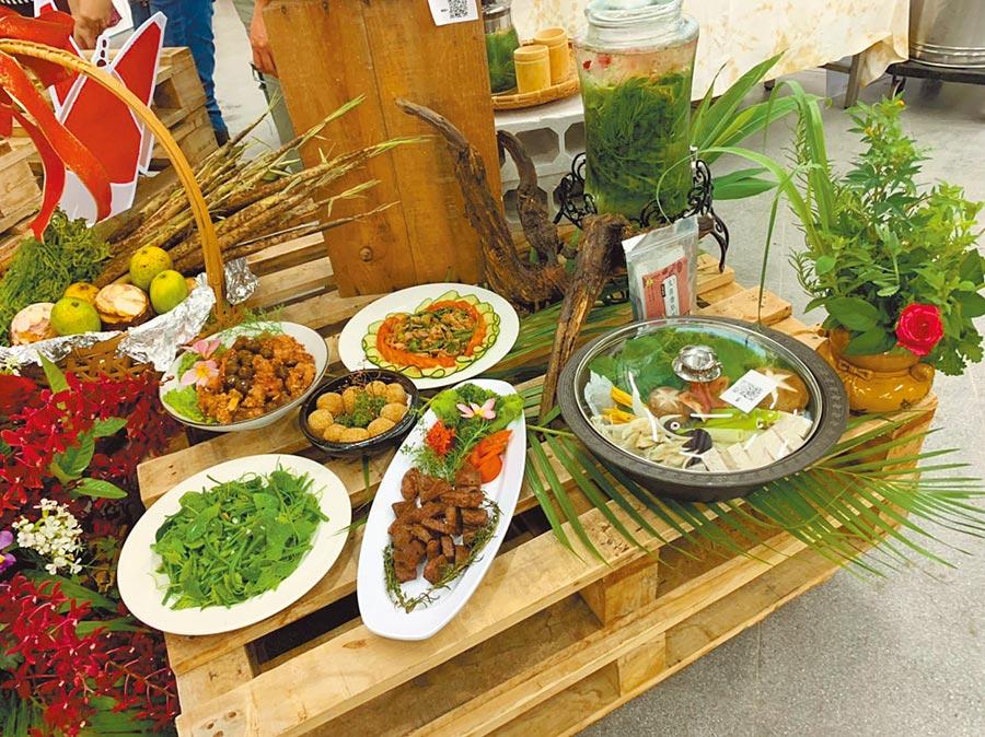 東高慢食特色料理餐點。(高雄市政府提供/林雅惠傳真)