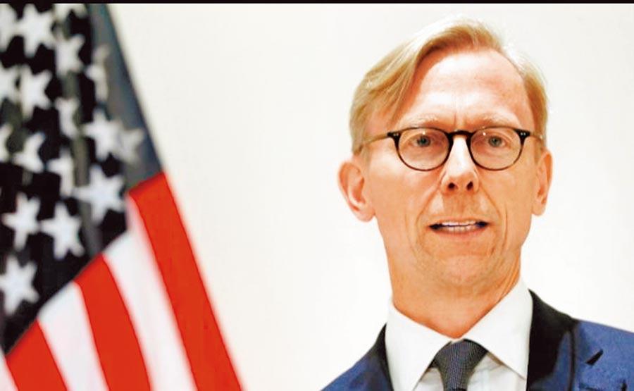 美國伊朗事務特別代表胡克。(取自Walsh,Frank Twitter)