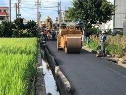 自來水延管工程路面修復  中市府斥資1.1億打造50公里路平