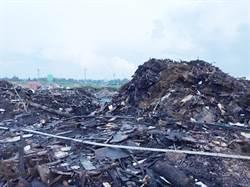 偏遠大城鄉淪為煉獄  農地堆積垃圾山狂燒兩天兩夜