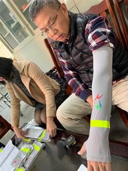 體恤清潔人員高溫執勤 中市環保局採購反光防曬袖