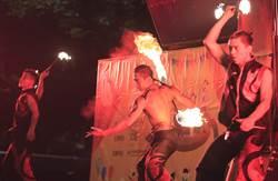 馬戲、火舞、演唱會,表藝凱道野台拚場