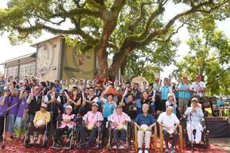 花蓮吉安五位百歲長者 為200歲樟樹爺爺慶生
