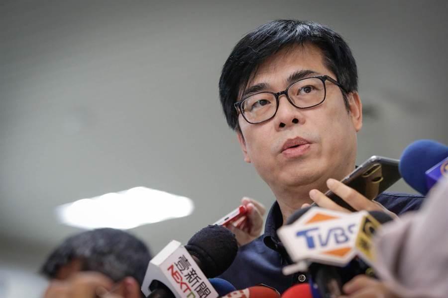 民進黨高雄市長補選參選人 陳其邁。(圖/本報資料照)