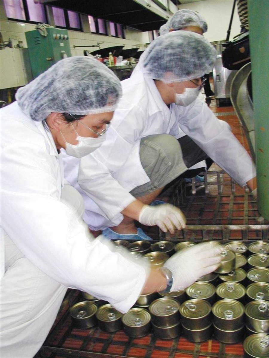 罐頭在製作過程中,經高溫殺菌,加上採用密封包裝,所以能長時間存放。(圖/報系資料照)