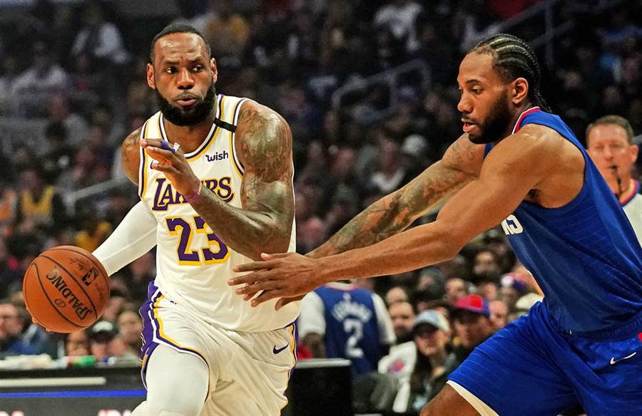 NBA本季復賽首日就排出洛杉磯內戰的精采戲碼!(路透)