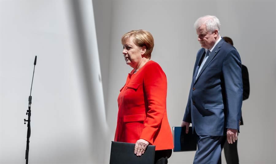 德國總理梅克爾。(圖/shutterstock)