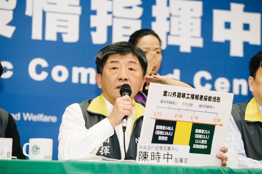 眼科醫師黃宥嘉節目上表示,陳時中現在在醫界評價很糟 (圖/資料照)