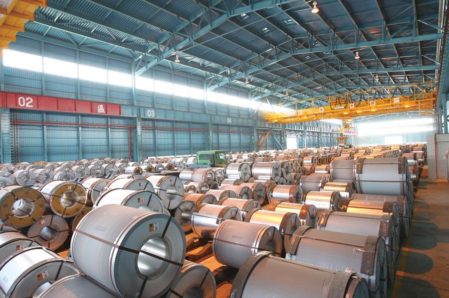 中鋼已做好備料的萬全準備,以因應疫後市場需求榮景。圖/中鋼提供