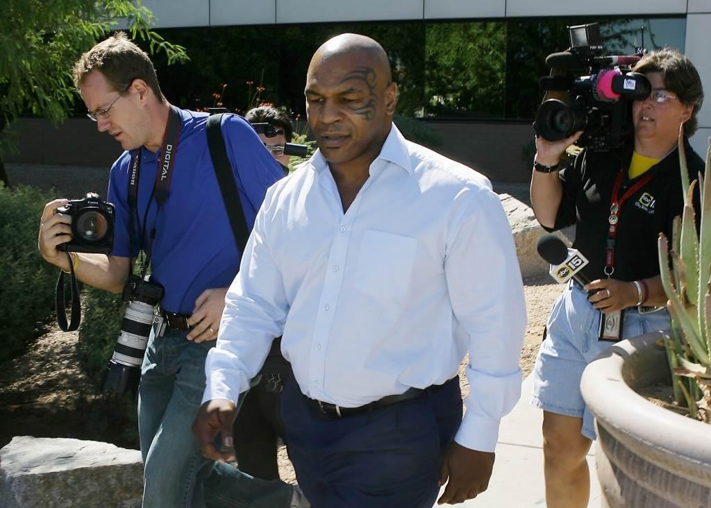 麥克泰森2007年出庭認罪。(美聯社資料照)