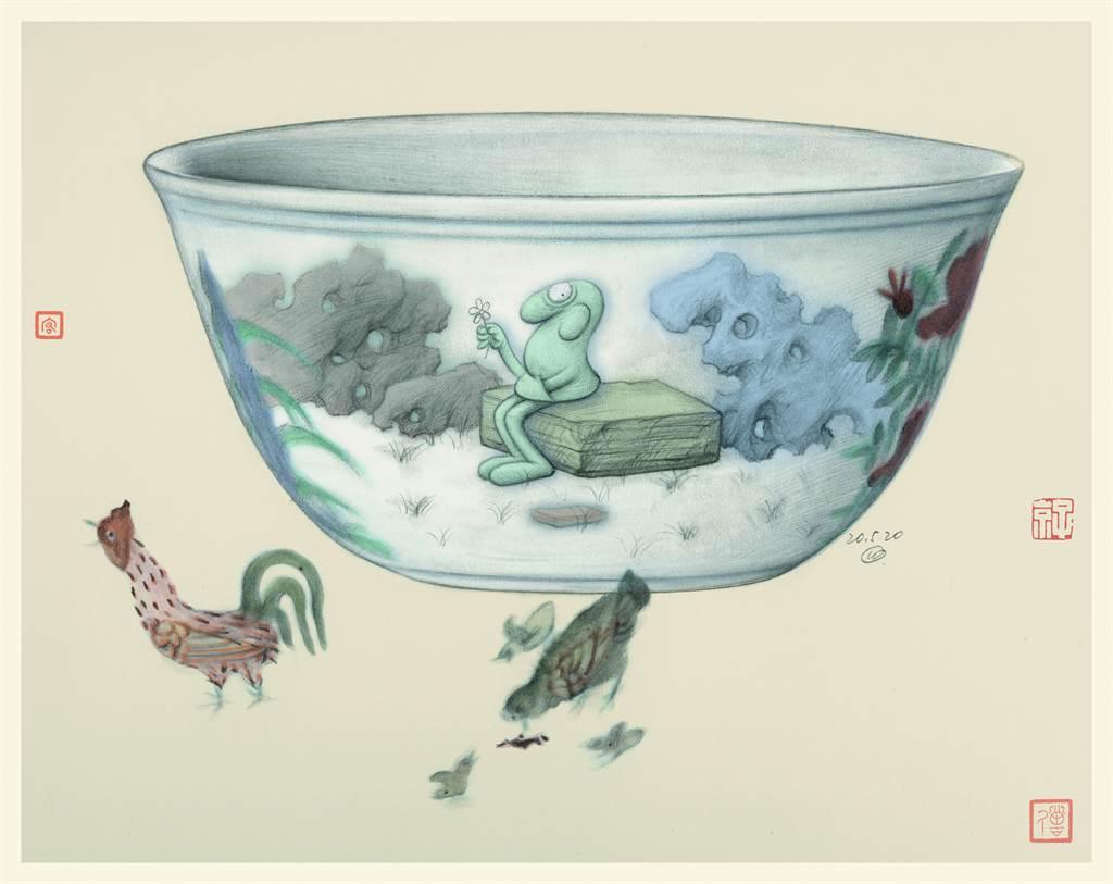 天價瓷杯。(圖/劉宏、讀者雜誌提供)