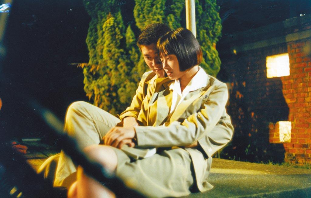在第一部戲《曾經》演出女主角的青年時期。(資料照片)