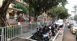 國民黨反監委佔立院抗議!北市緊急動員300警設鐵拒馬維安