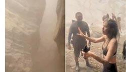 多納峽谷山崩 溯溪客驚險逃生