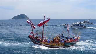基隆和平島王船祭  8月1日海上遊江