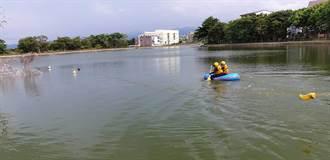 2醉男相約到高城埤塘內續攤 游泳過池溺水命危
