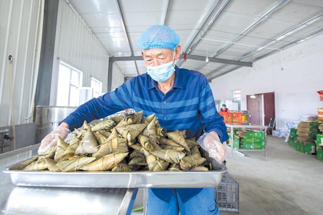 人造肉粽席捲端午圖╱新華社