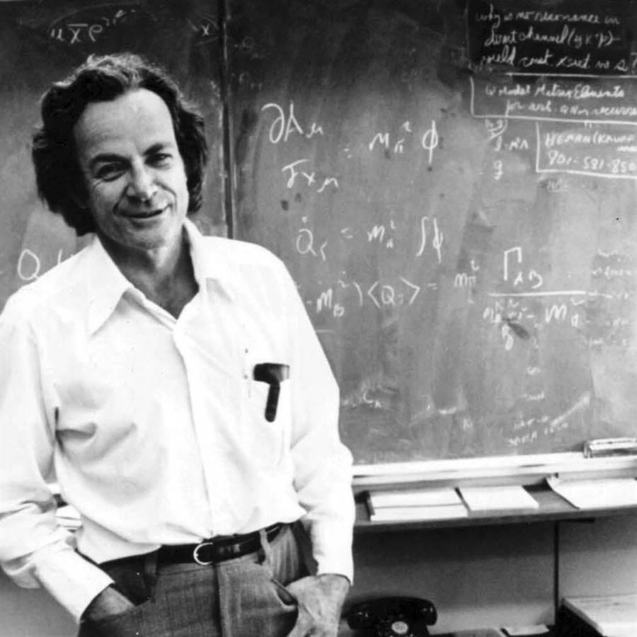理察‧費曼,1965年諾貝爾物理學獎得主。(圖/讀者雜誌提供)