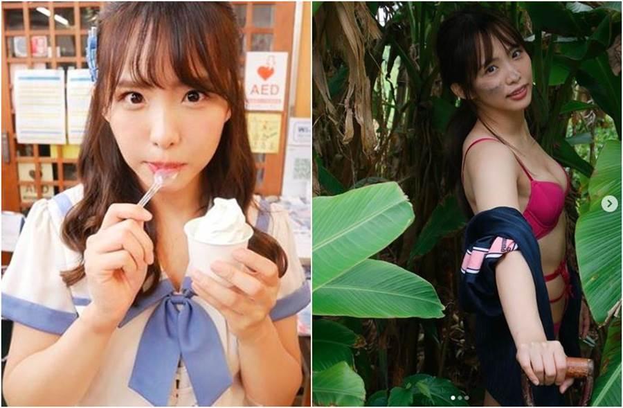 松村香織退團SKE48一年,宣布結婚。(圖/翻攝自IG)