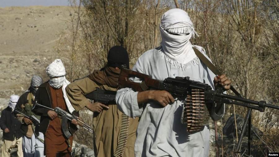 泰晤士報與紐約時報報導,俄國暗殺部隊向塔利班提供賞金,他們殺掉美軍後能夠領賞。(圖/路透社)