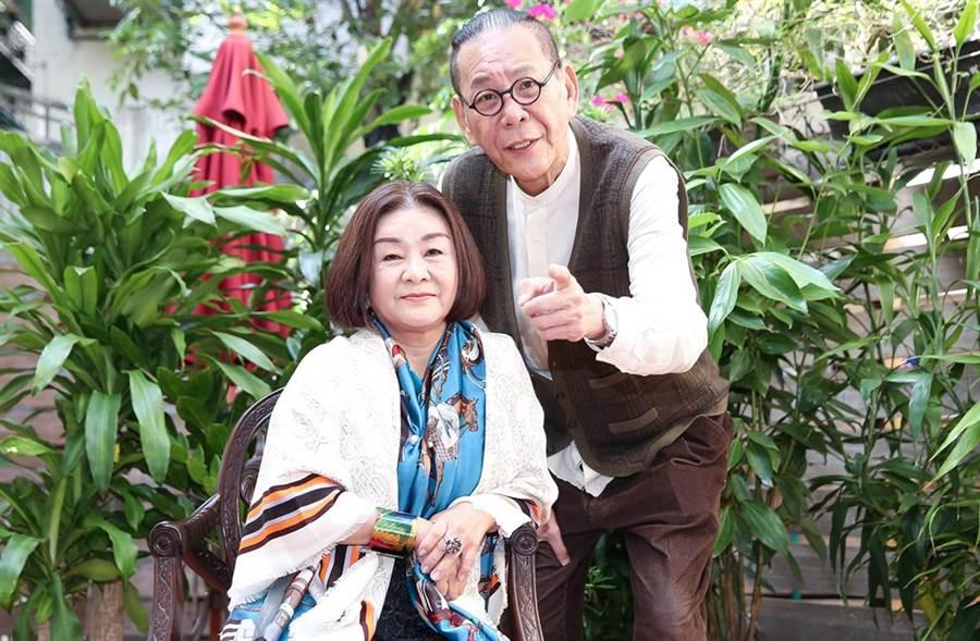 吳秀珠近日在劇集《老姑婆的古董老菜單》,和龍劭華有對手戲。