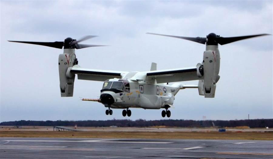 CMV-22。(圖/美國海軍)