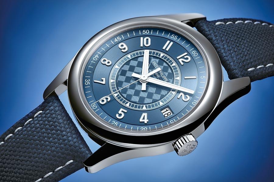 Calatrava 編號 6007A-001 紀念時計,限量推出。(百達翡麗提供)