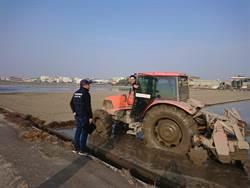 農機沾滿爛泥開上路 彰化縣將加強勸導並開罰