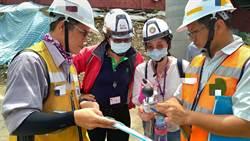 預防戶外作業熱疾病 北市勞動局突擊檢查營造工地