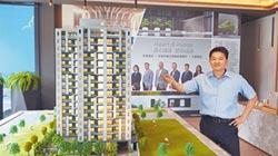 新業自由居熱銷 台中東區指標案